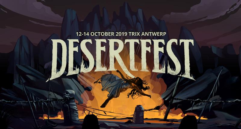 desertfest belgium 2019 banner