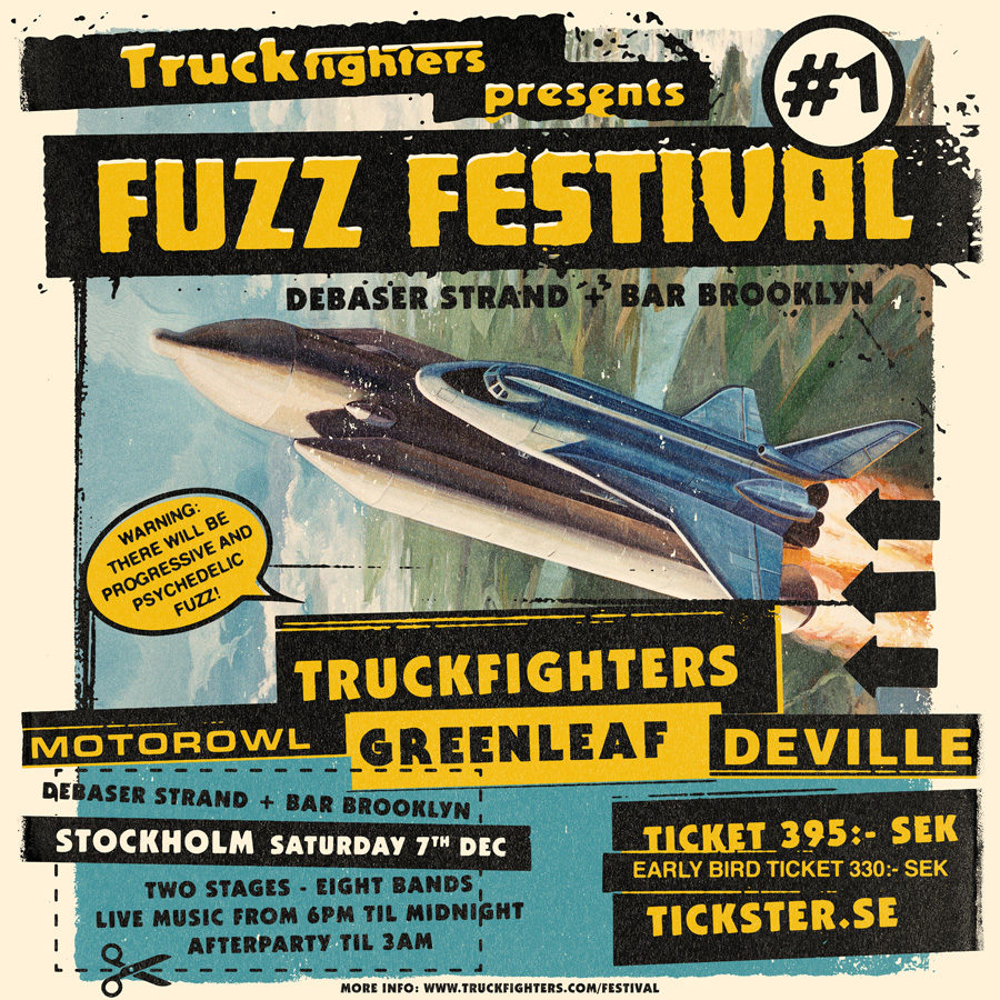 fuzz festival poster