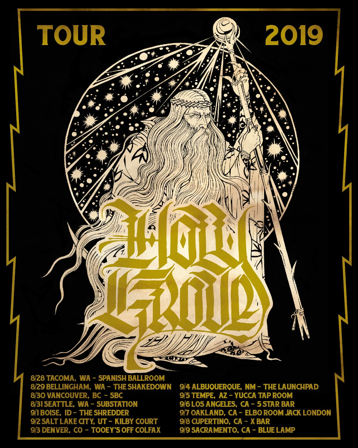 holy grove tour