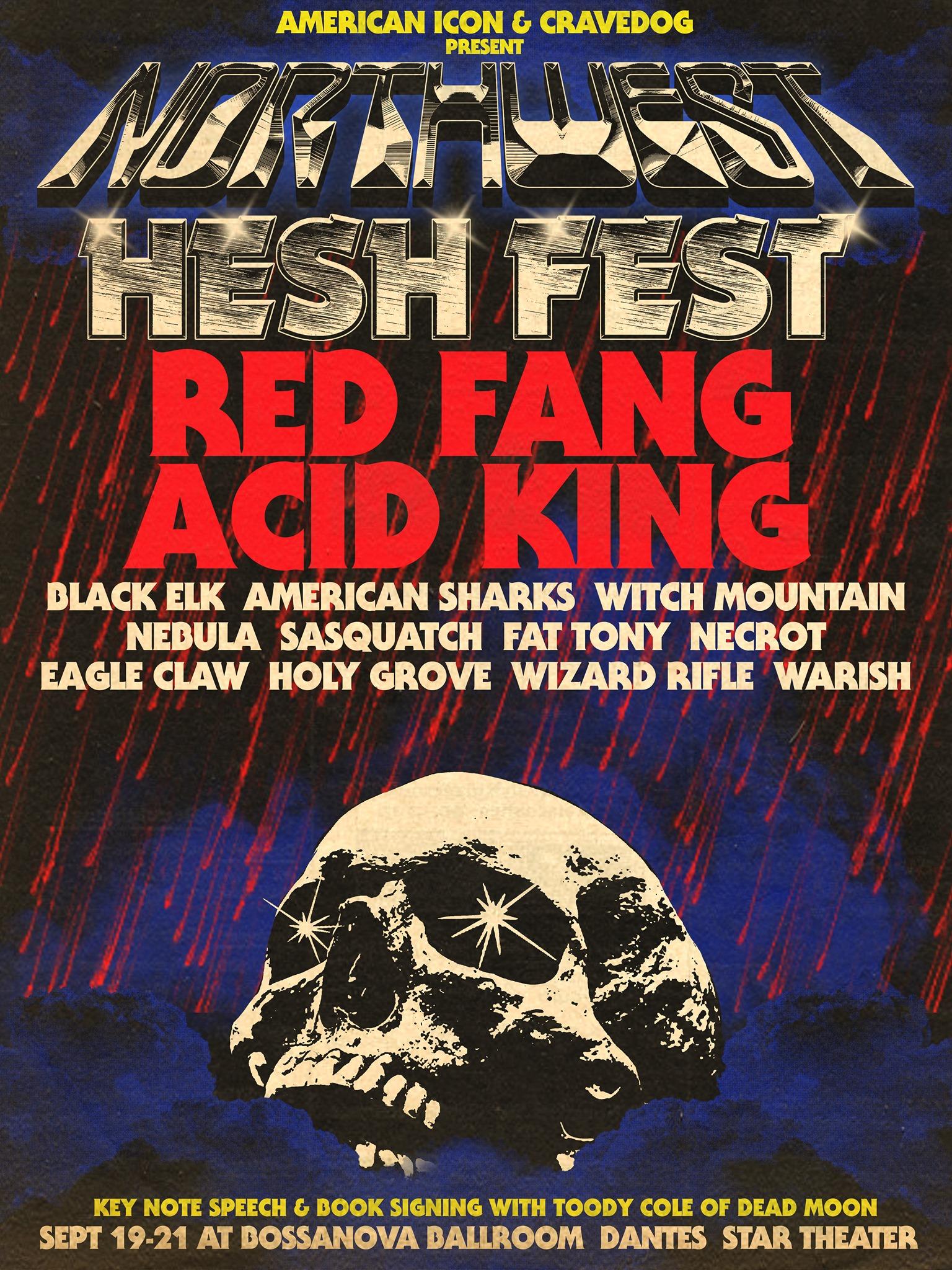 northwest hesh fest poster