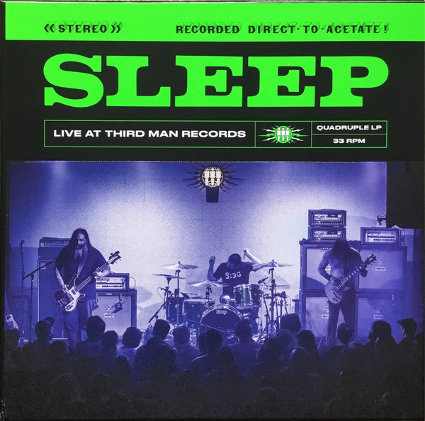 sleep live at third man records