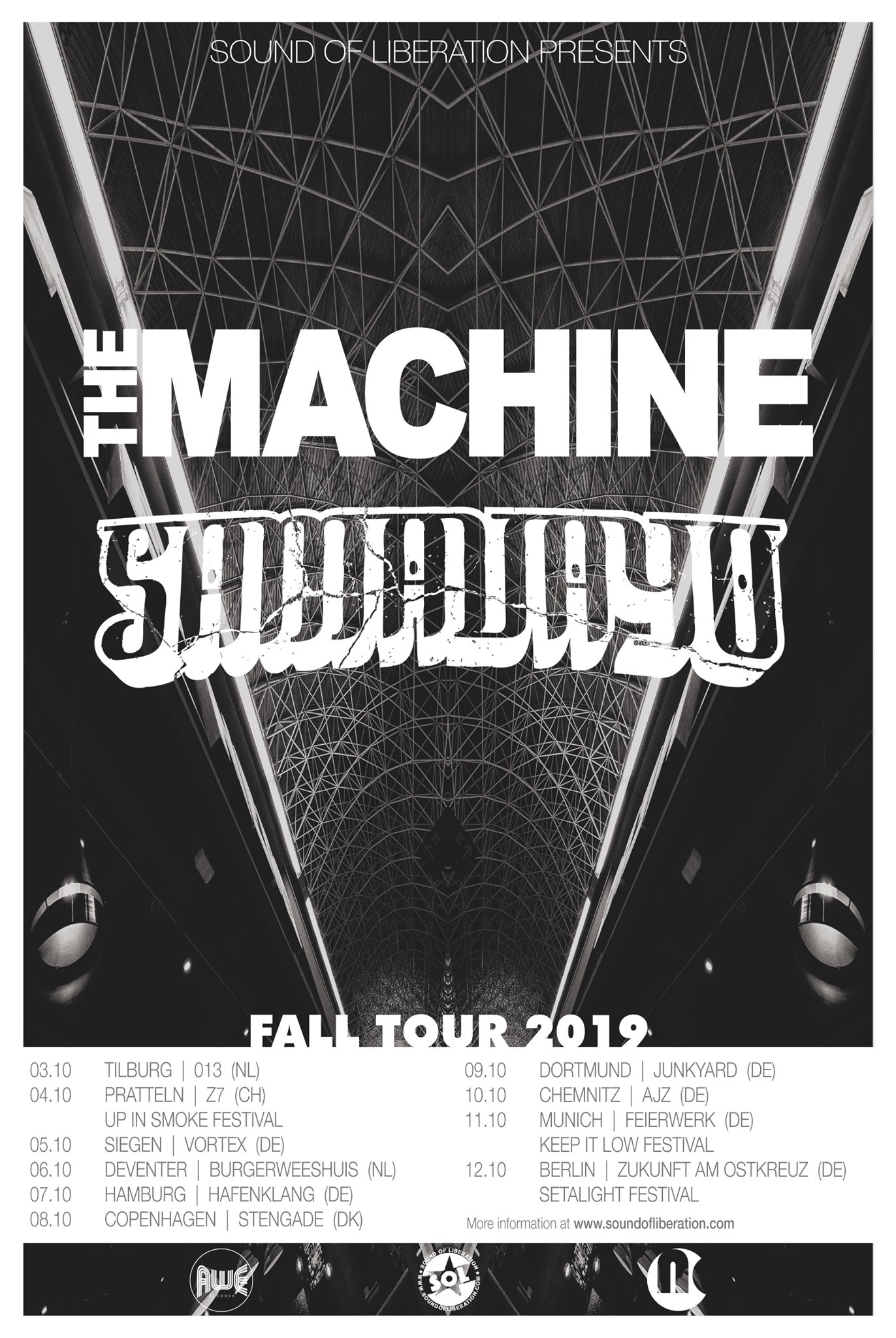 the machine tour