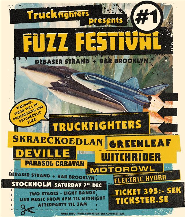 fuzz festival 1 poster