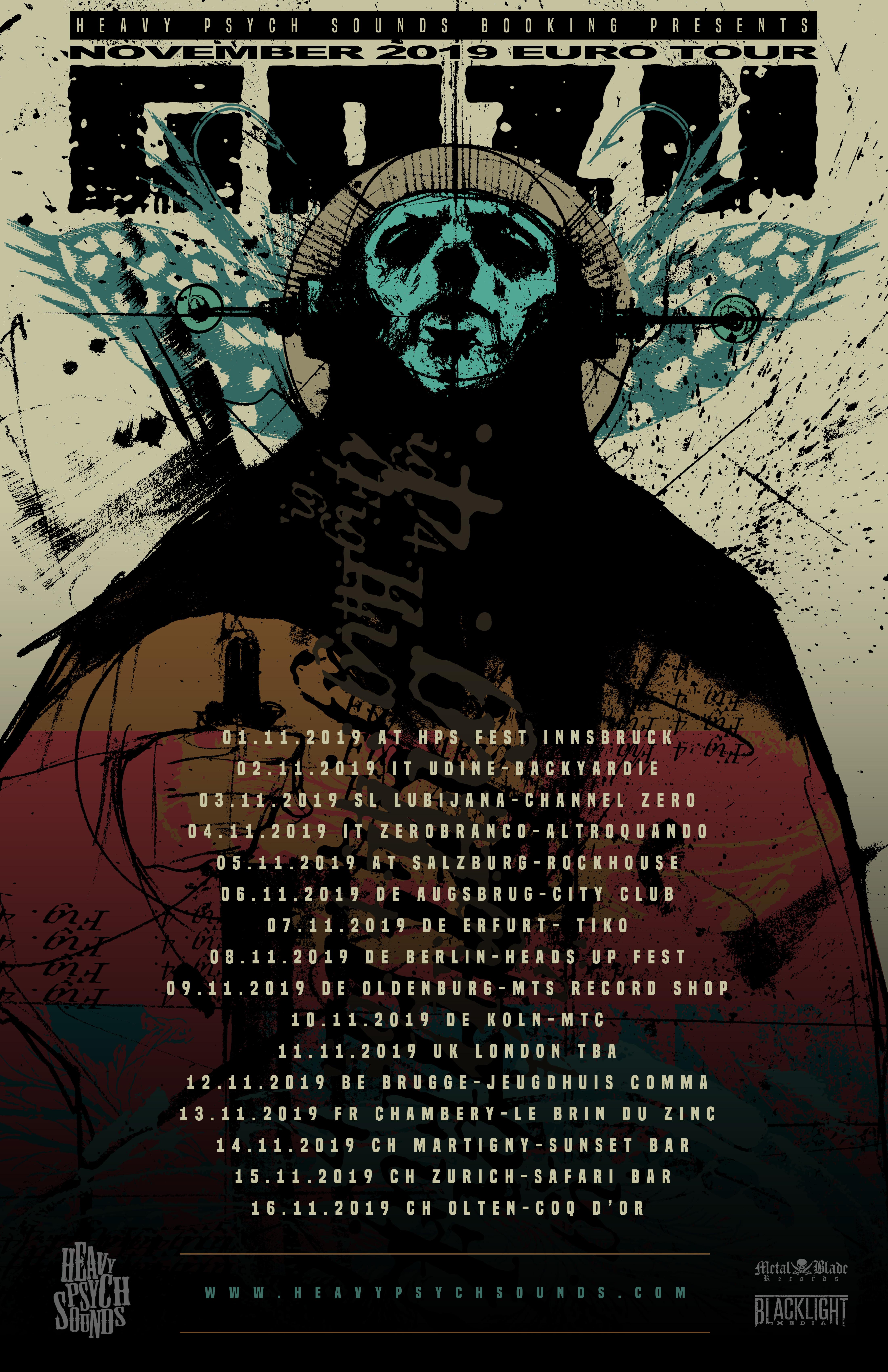 gozu november tour