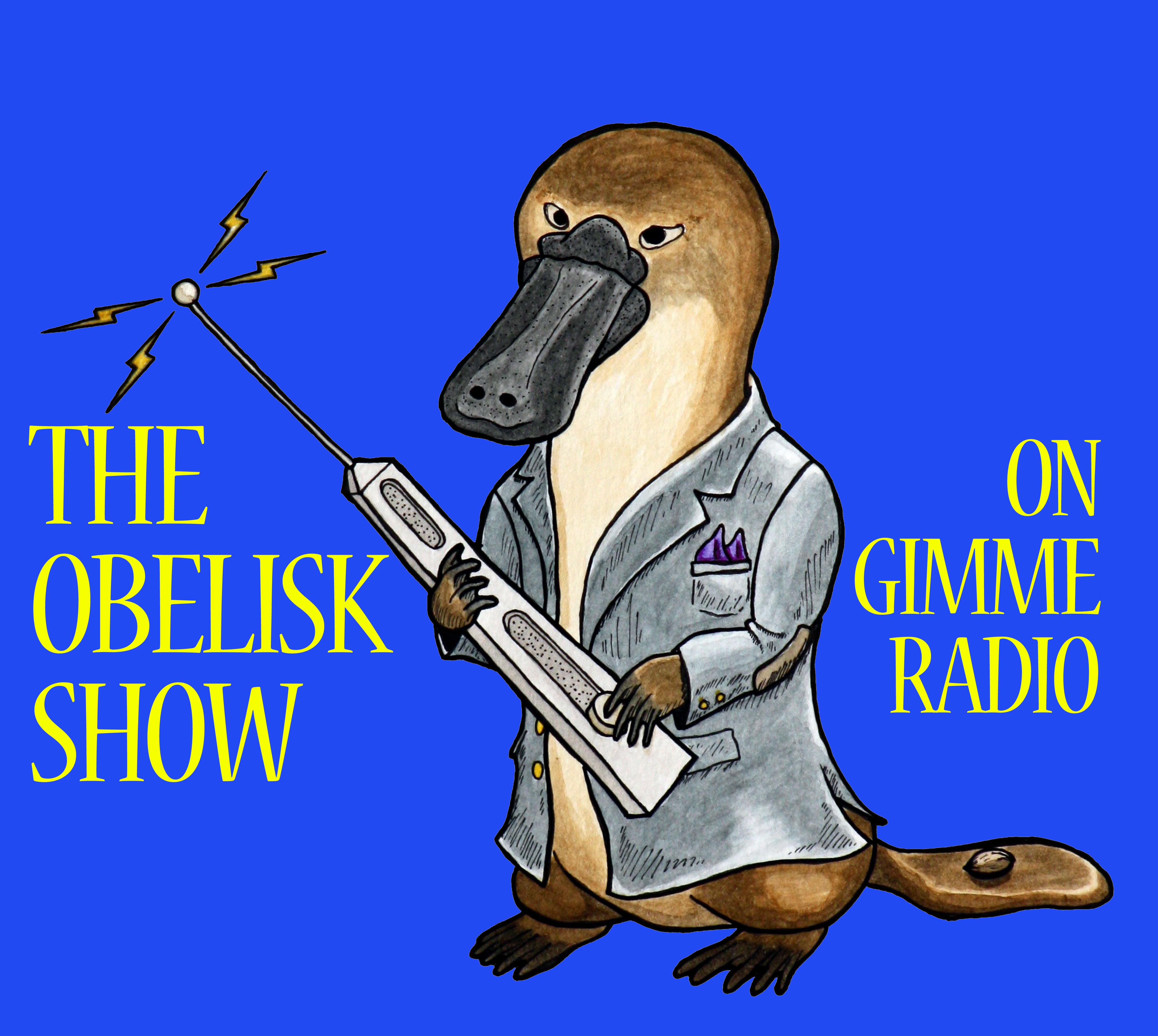 the obelisk show banner