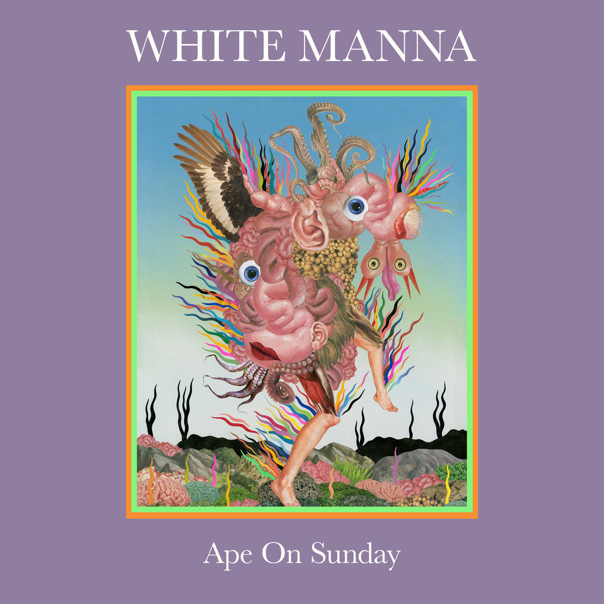 white manna ape on sunday