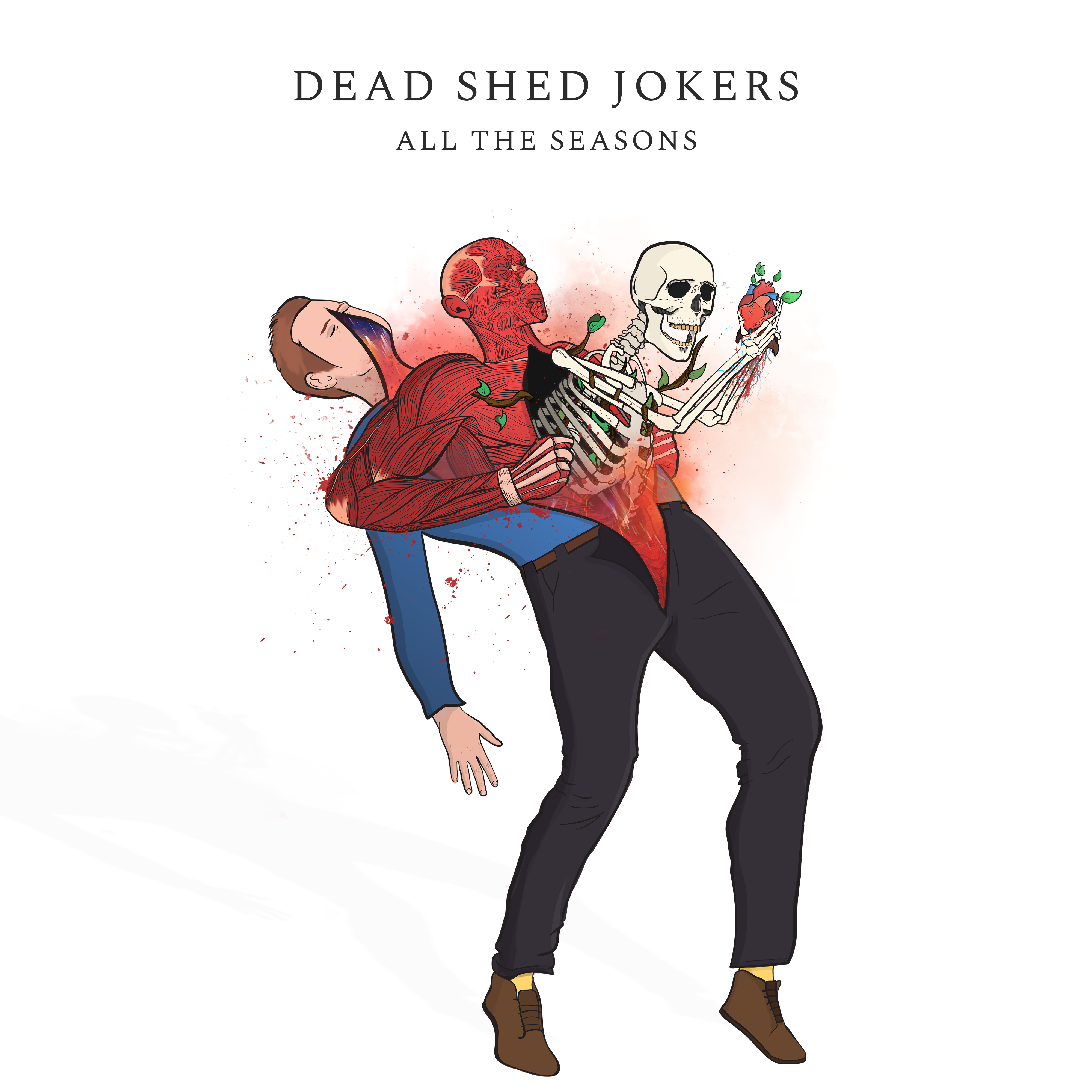Dead Shed Jokers - All the Seasons (Cover Artwork)