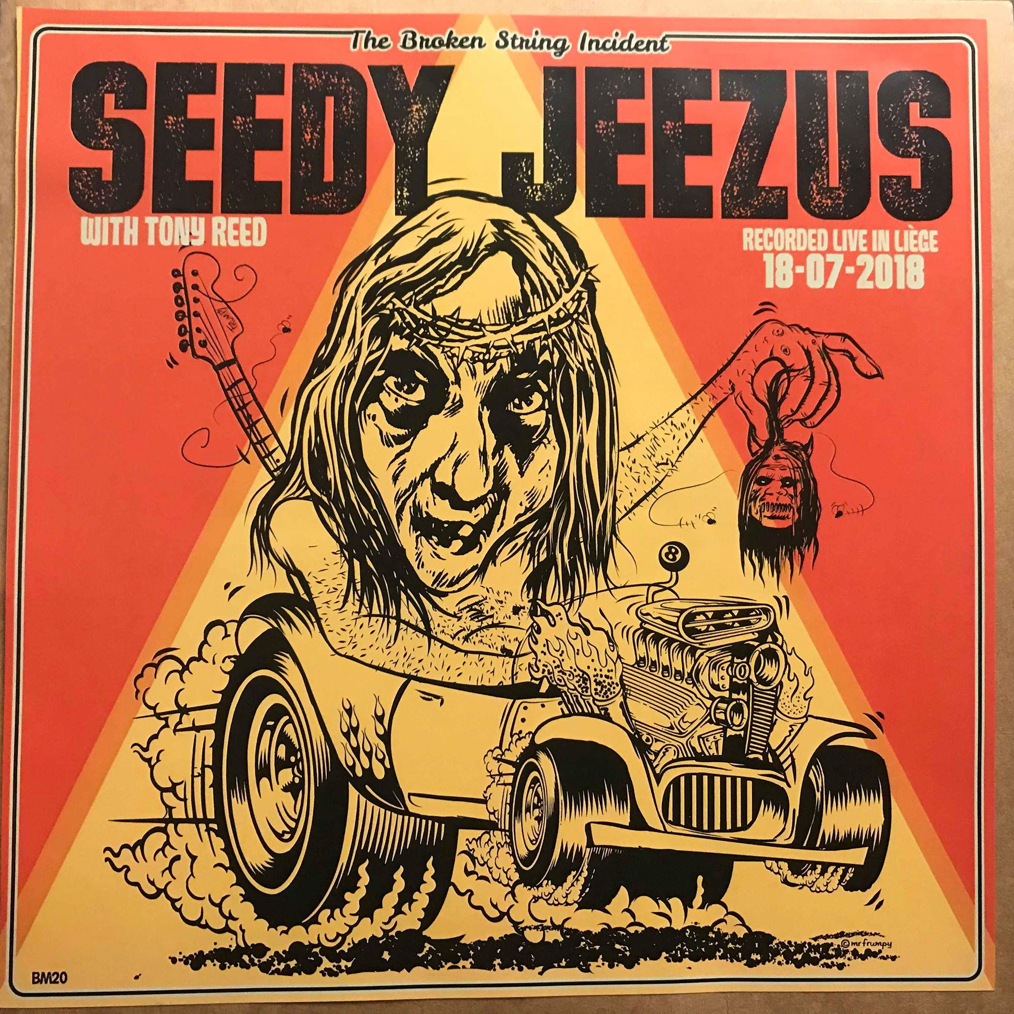 Seedy Jeezus with tony reed live in liege