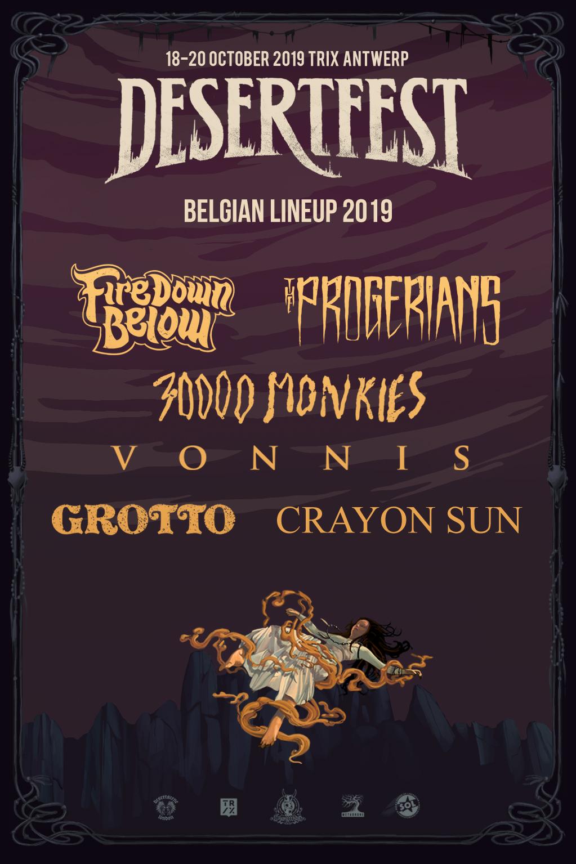 desertfest belgium 2019 belgians