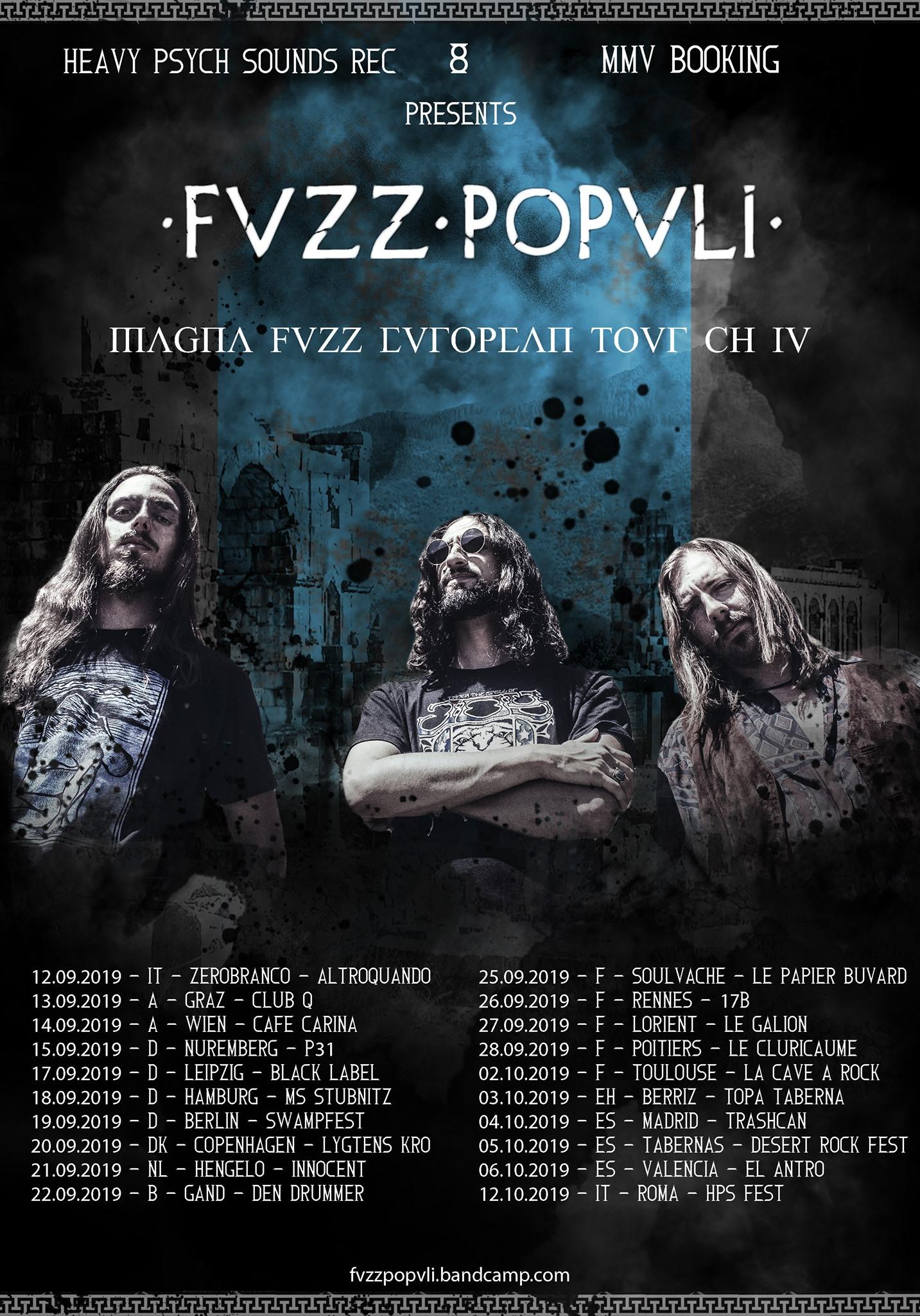 fvzz popvli tour poster