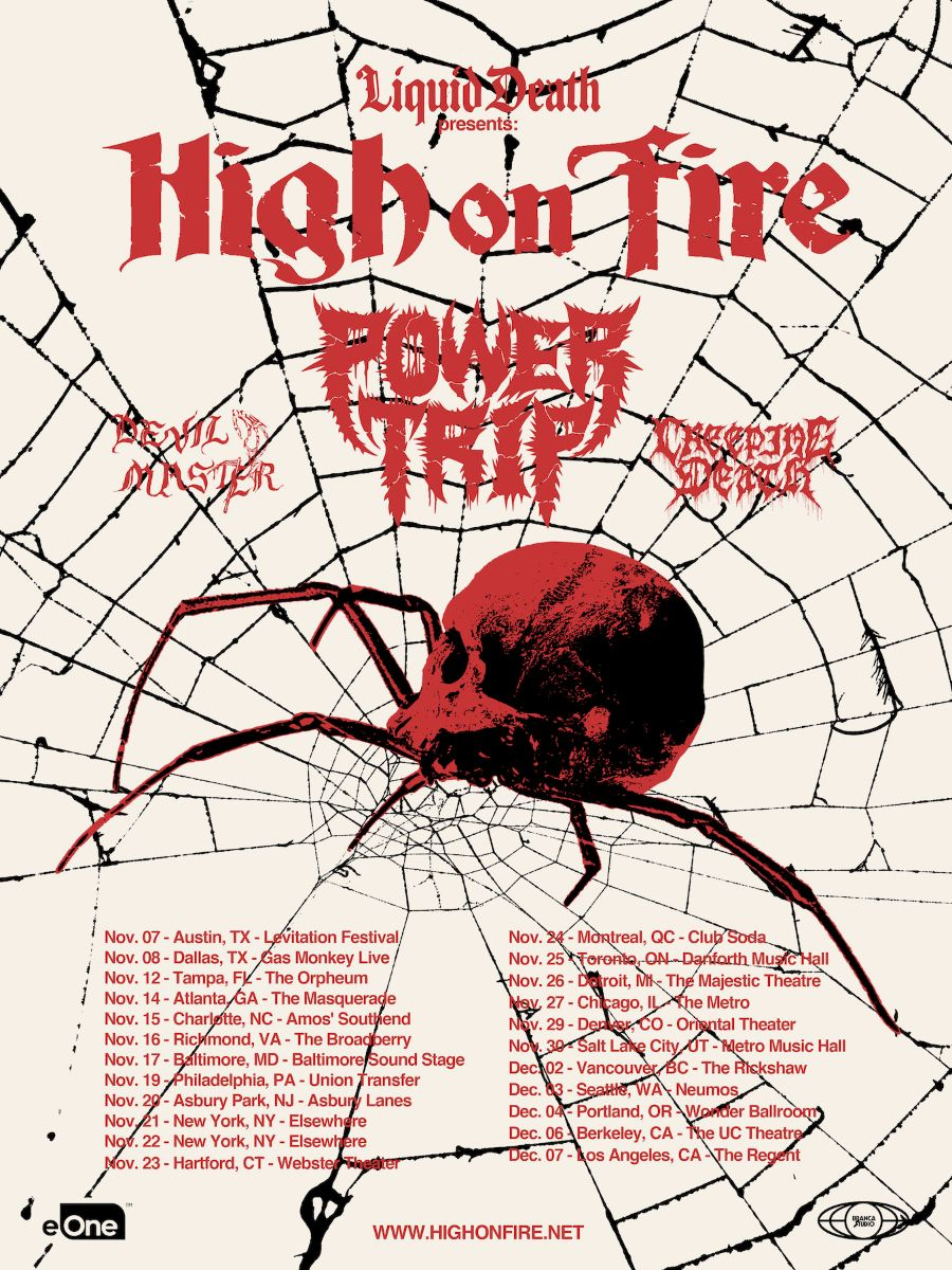 high on fire power trip