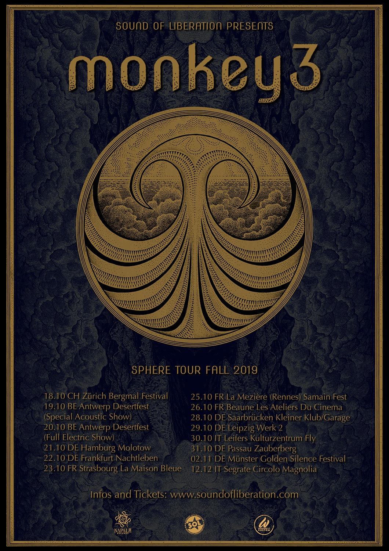 monkey3 tour