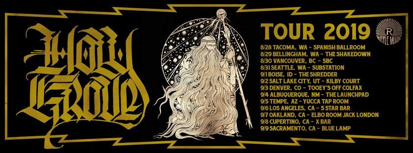 holy grove tour dates