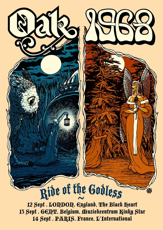 oak 1968 tour