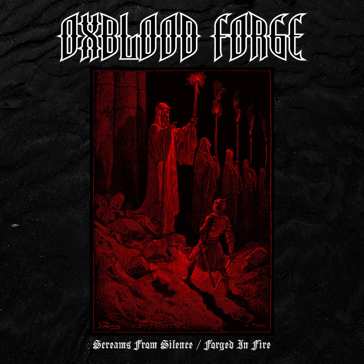 oxblood forge screams from silence