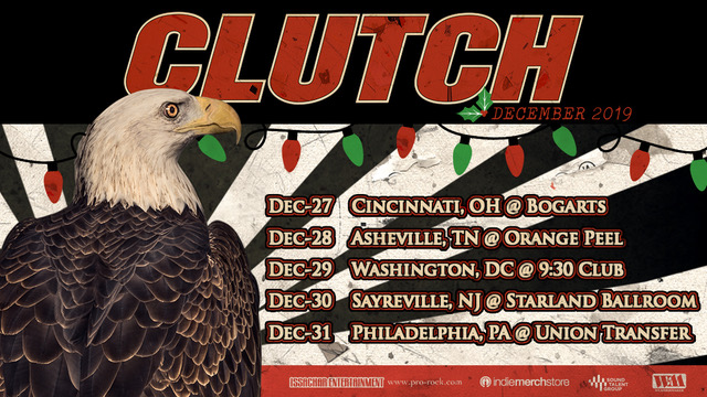 clutch holiday tour poster