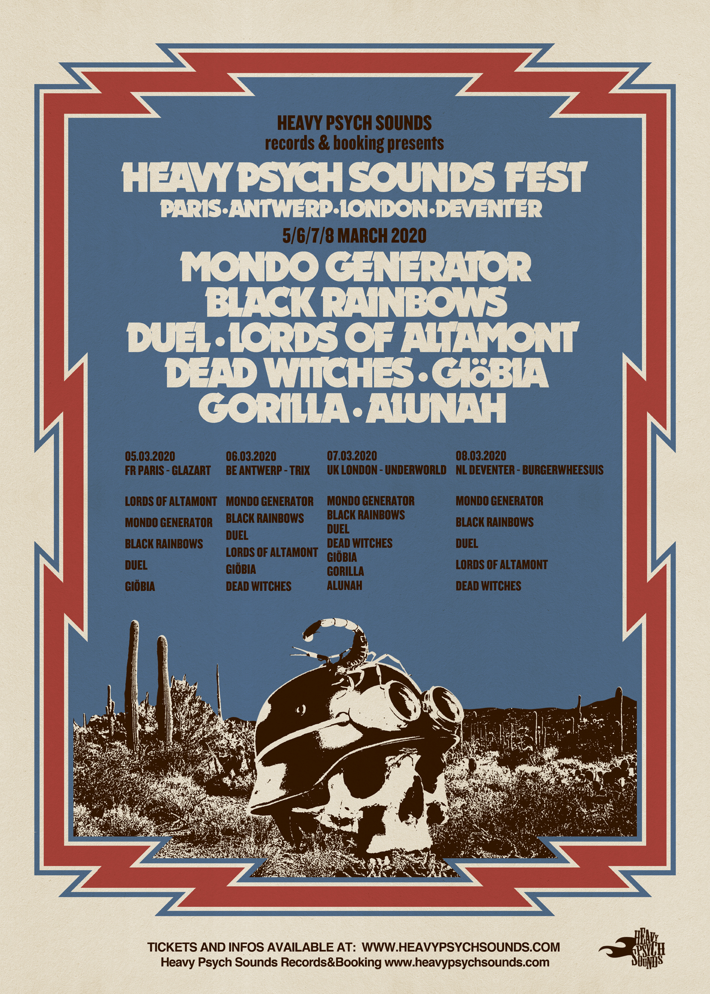 heavy psych sounds fest 2020
