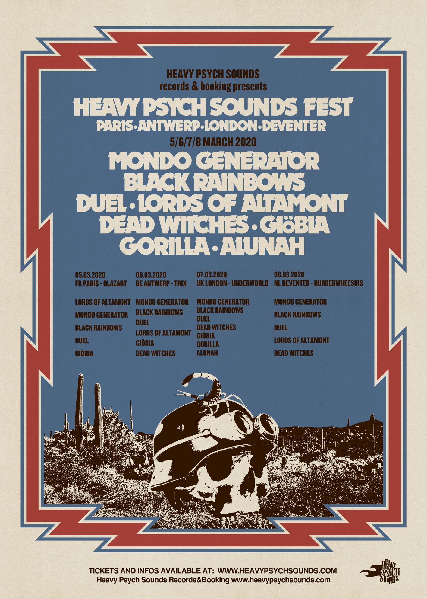 heavy psych sounds fest 2020