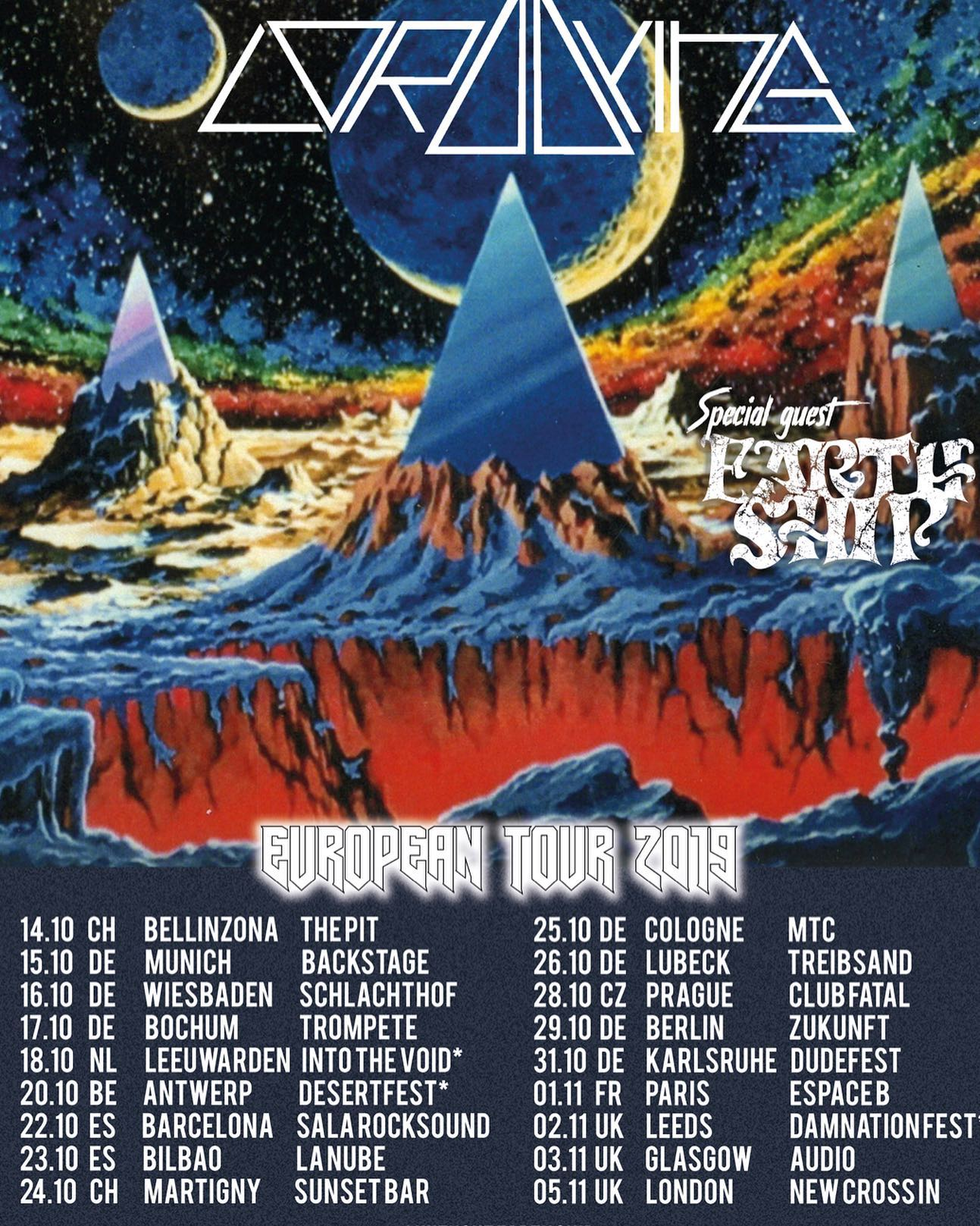 lord dying euro tour