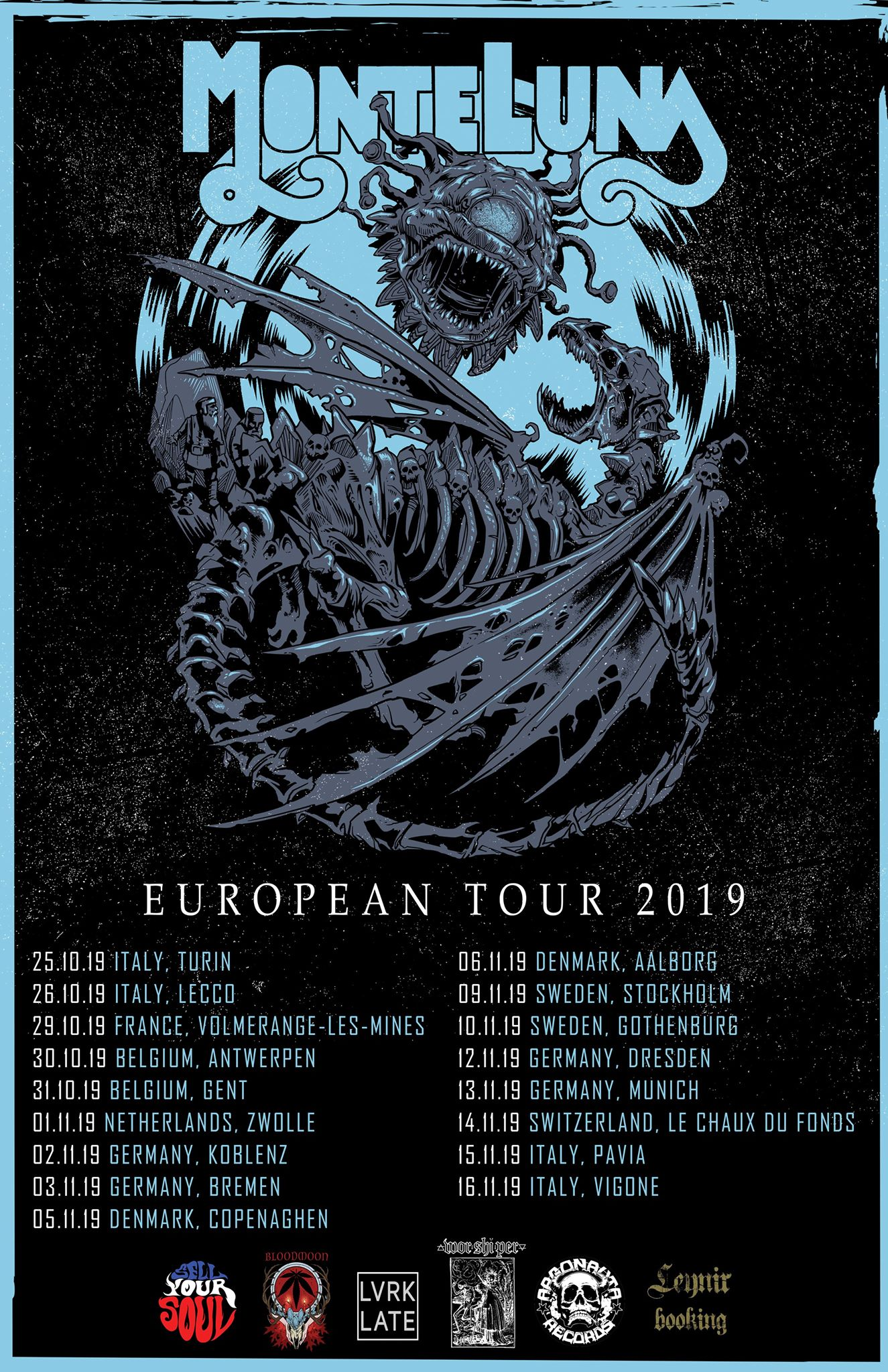monte luna euro tour