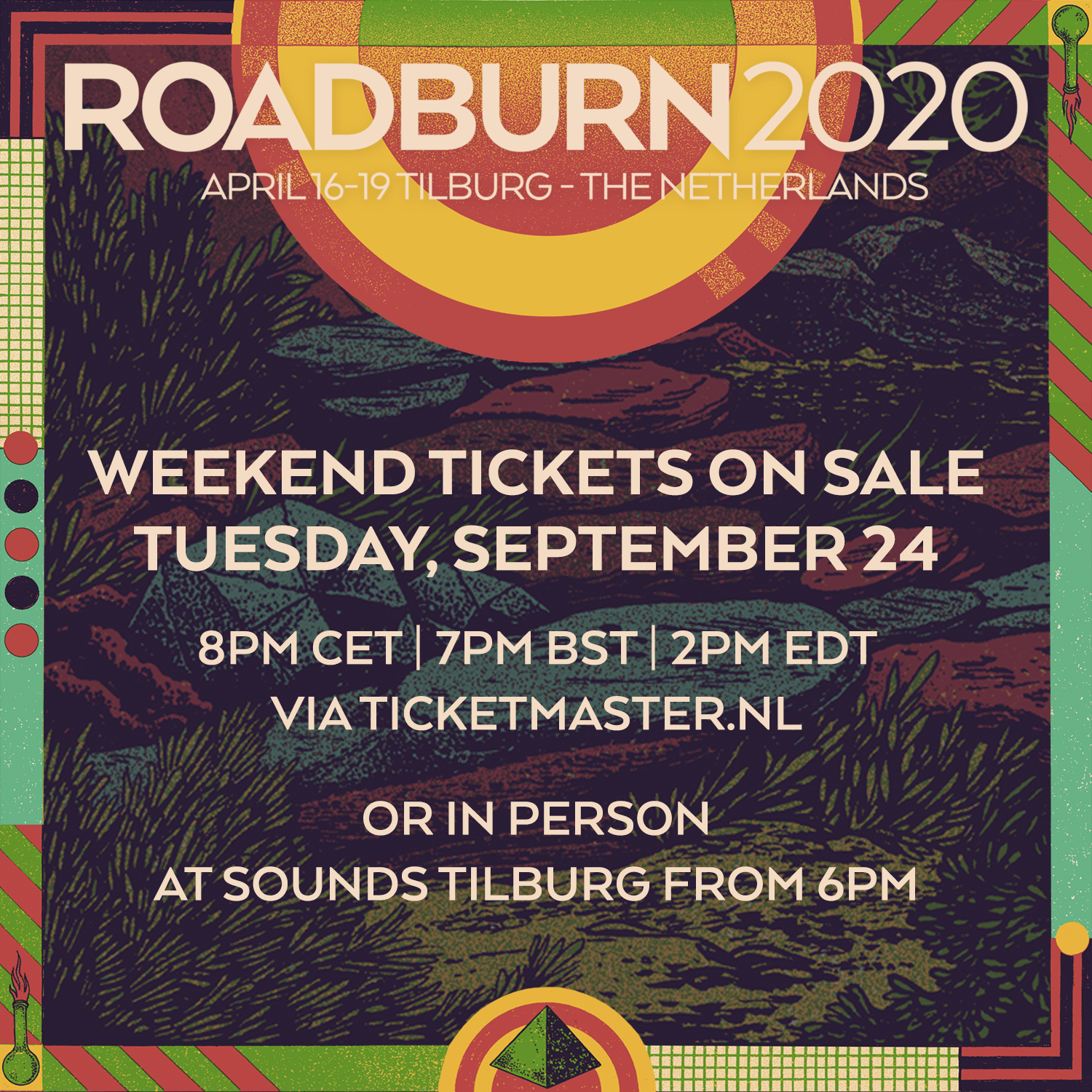 roadburn 2020 tickets