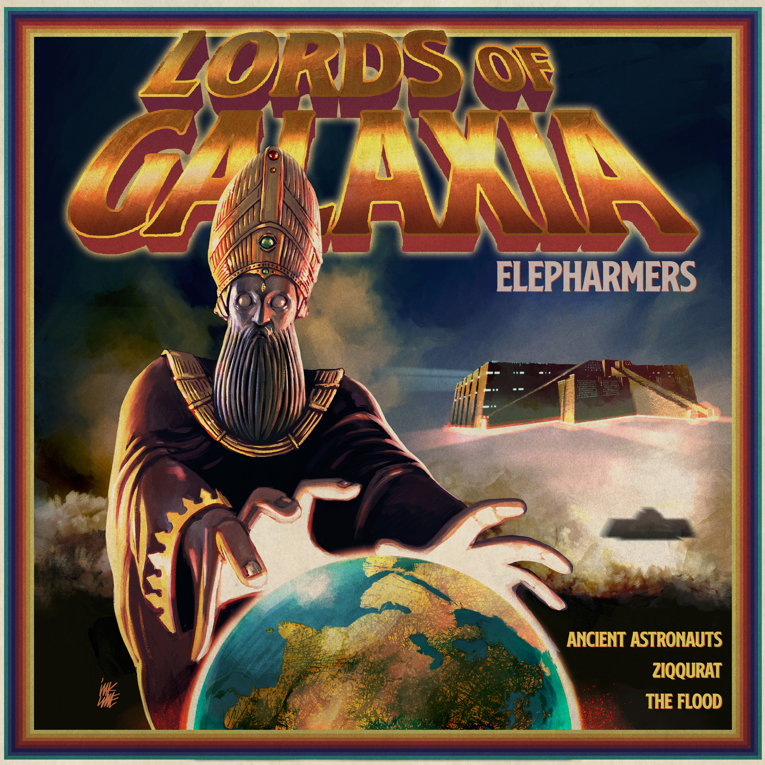 Elepharmers Lords Of Galaxia Artwork