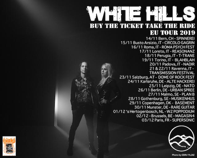 WHITE HILLS Tour