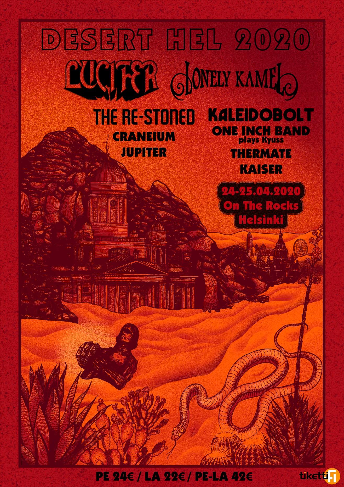 desert hel 2020 poster