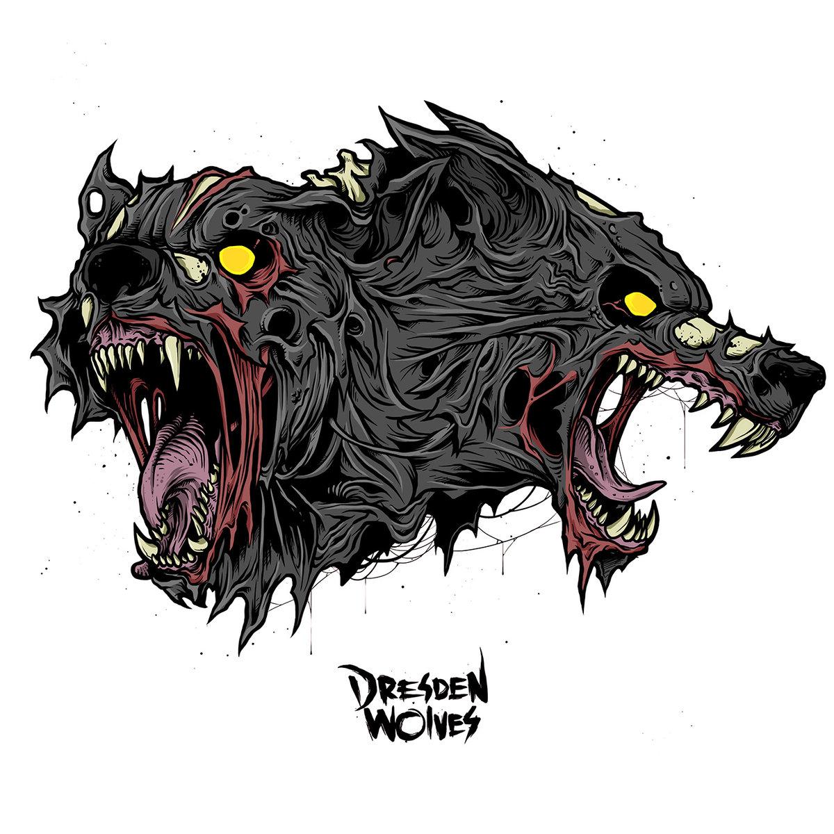dresden wolves Hiedra Sencillo