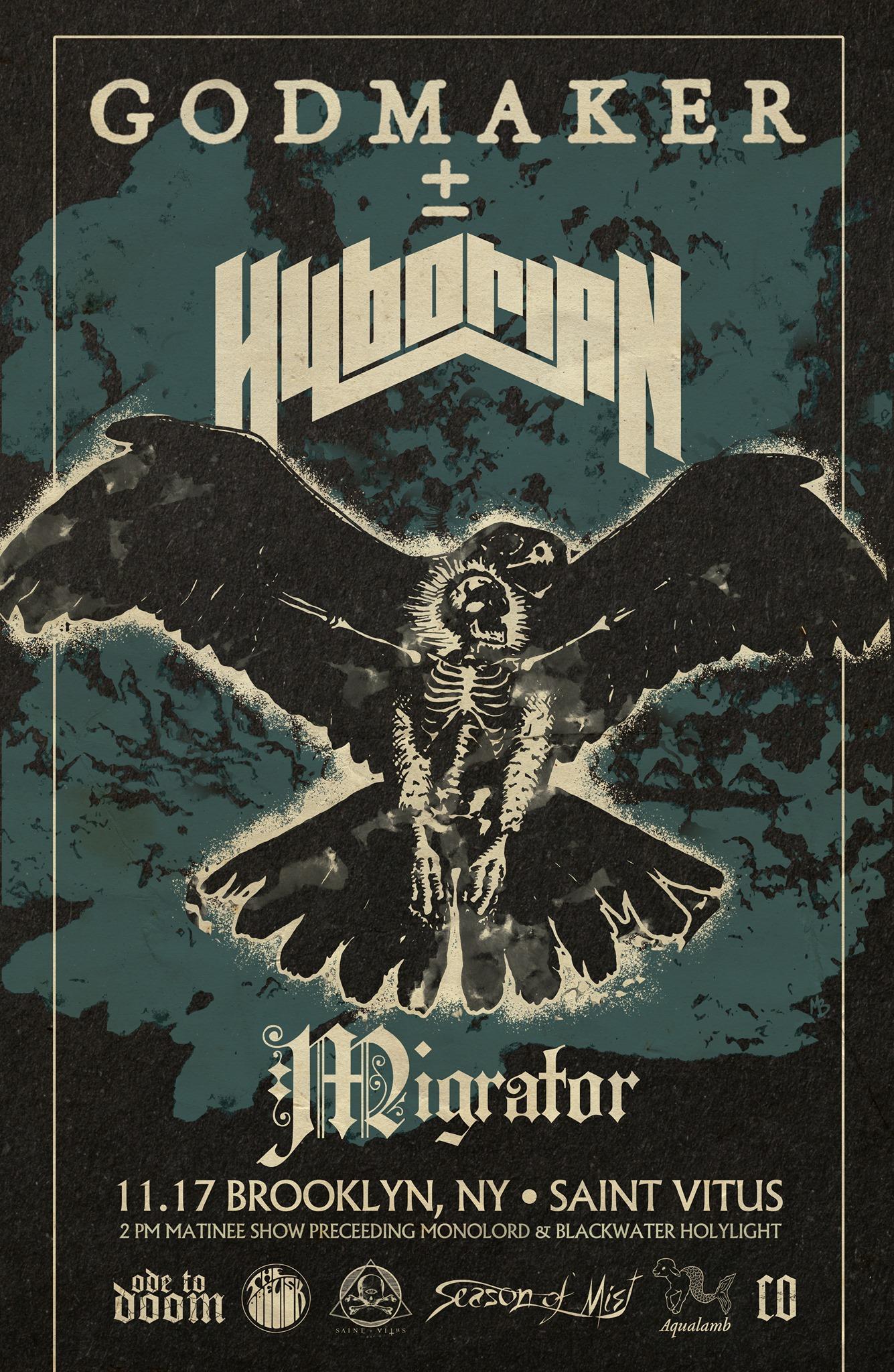godmaker hyborian migrator new poster