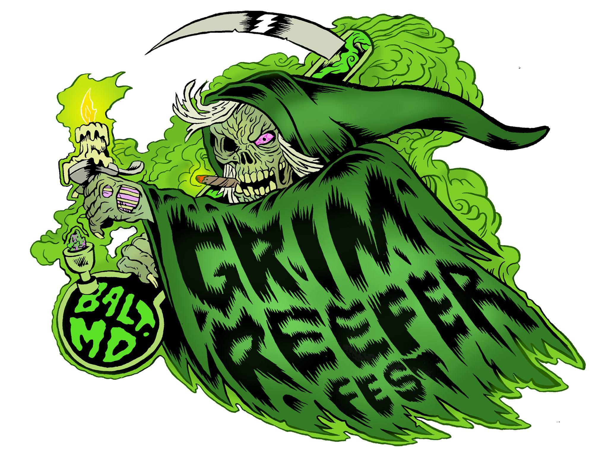 grim reefer fest logo