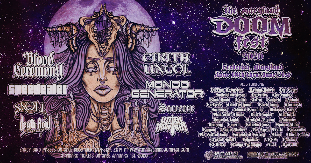 maryland doom fest 2020 banner
