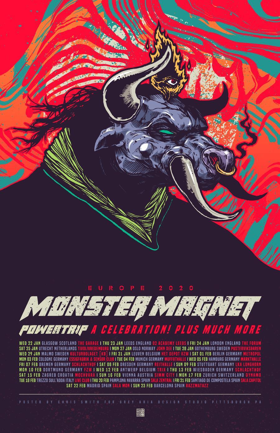 monster magnet europe 2020