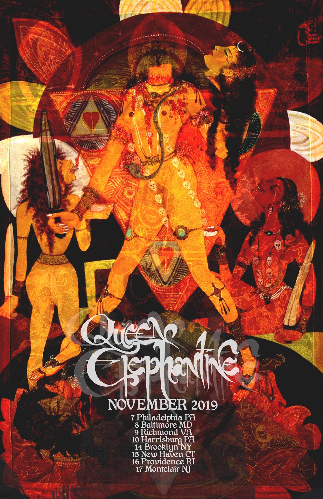queen elephentine november tour