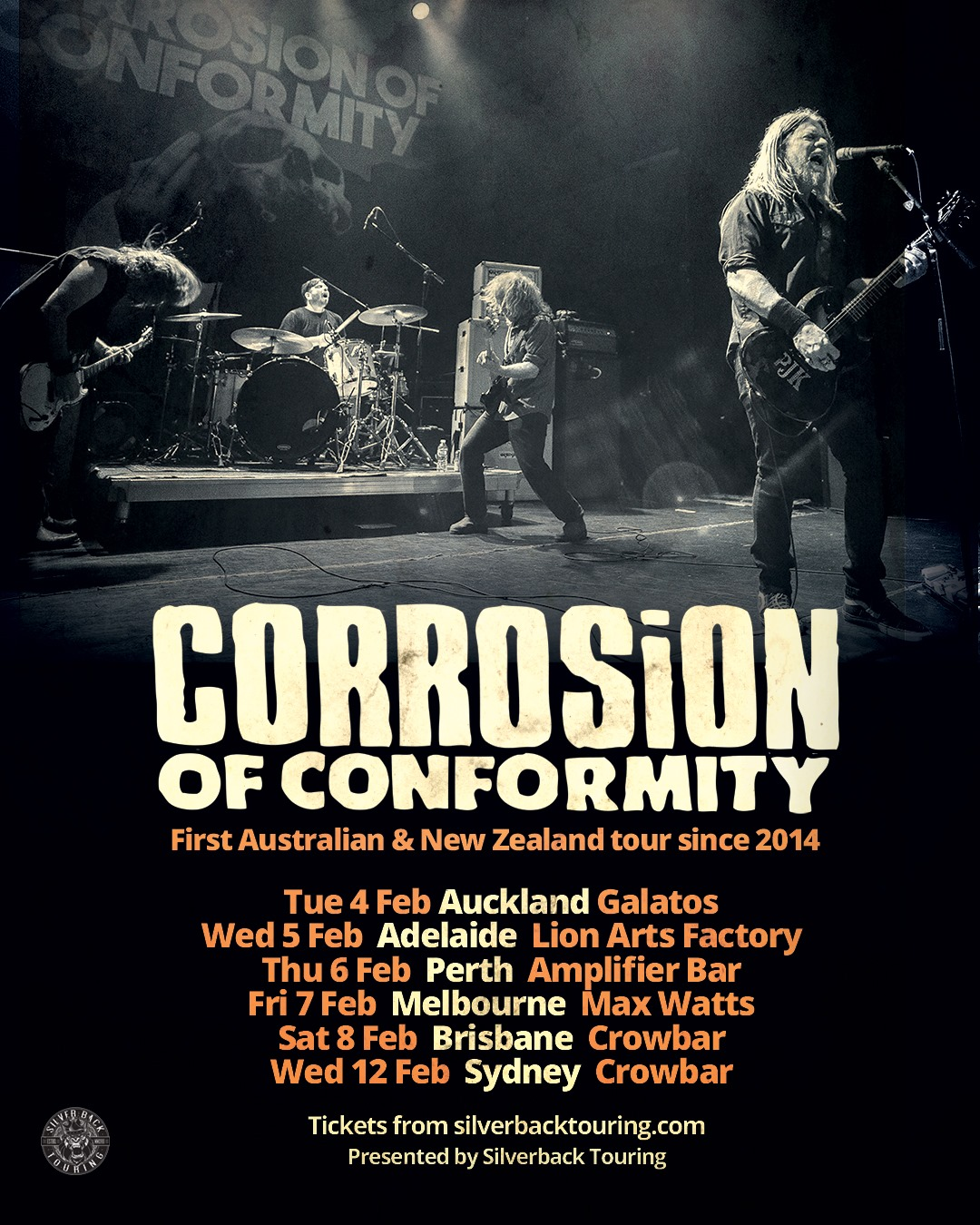 corrosion of conformity ausnz tour