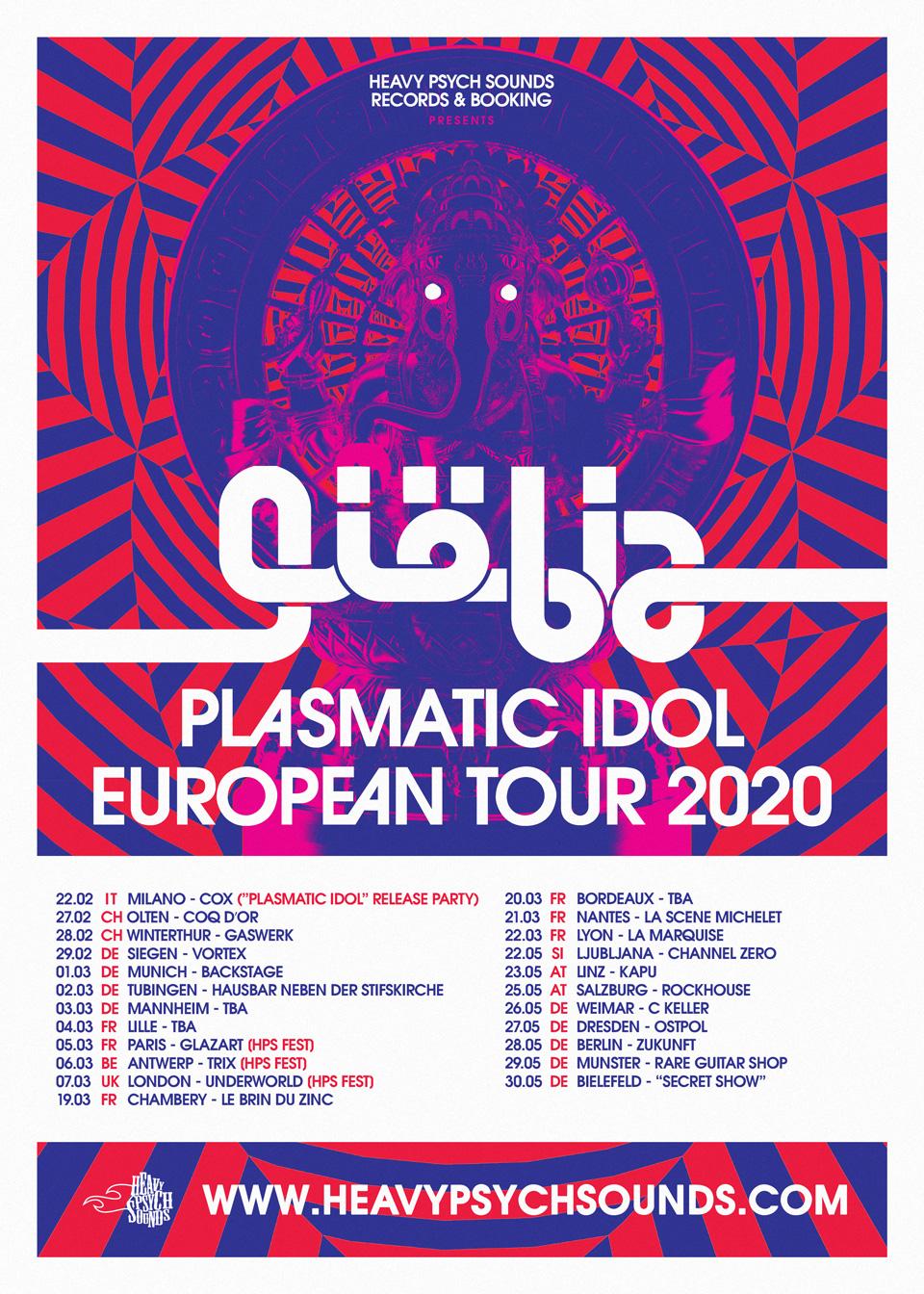 giobia tour poster