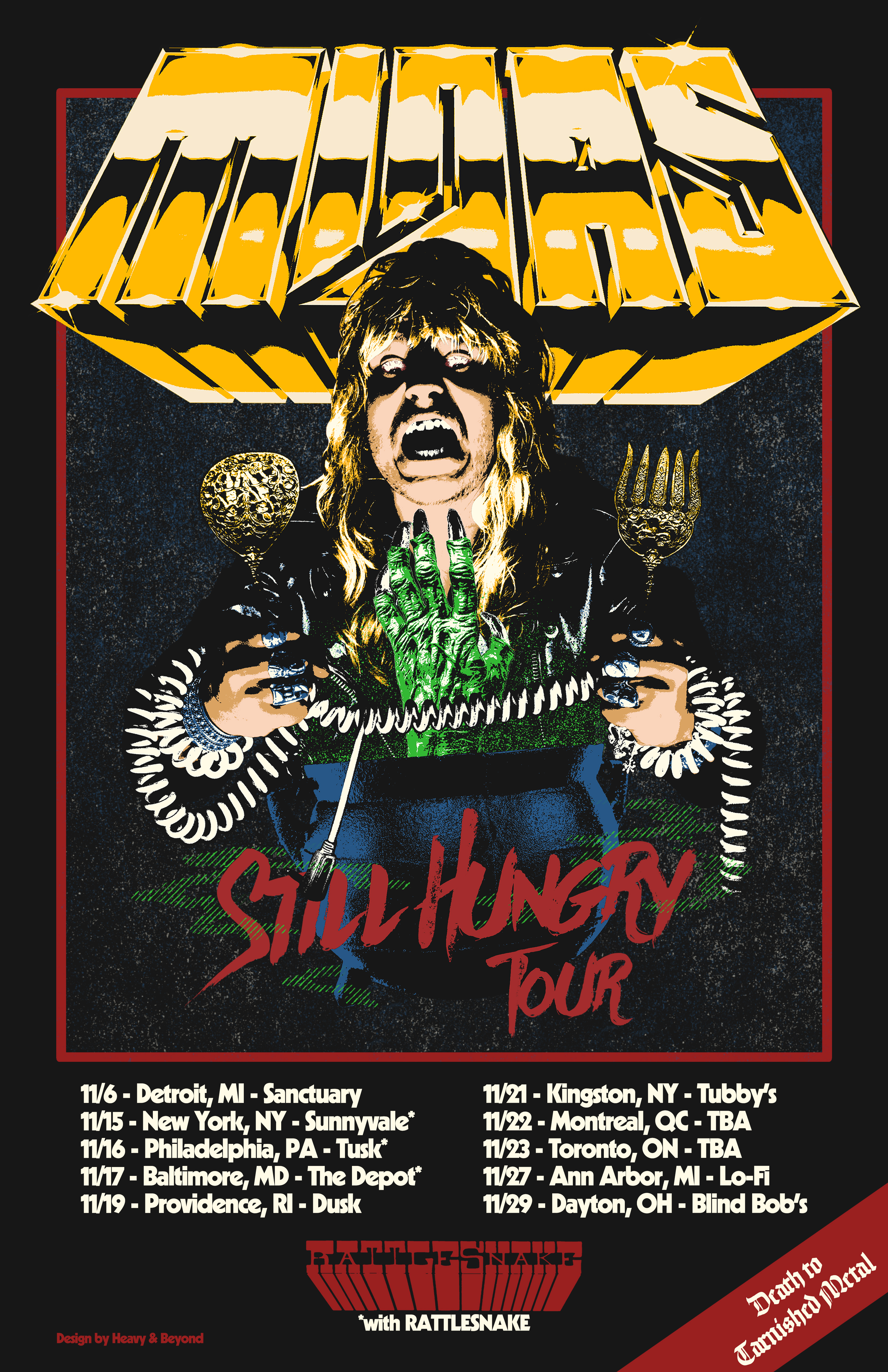 midas still hungry tour