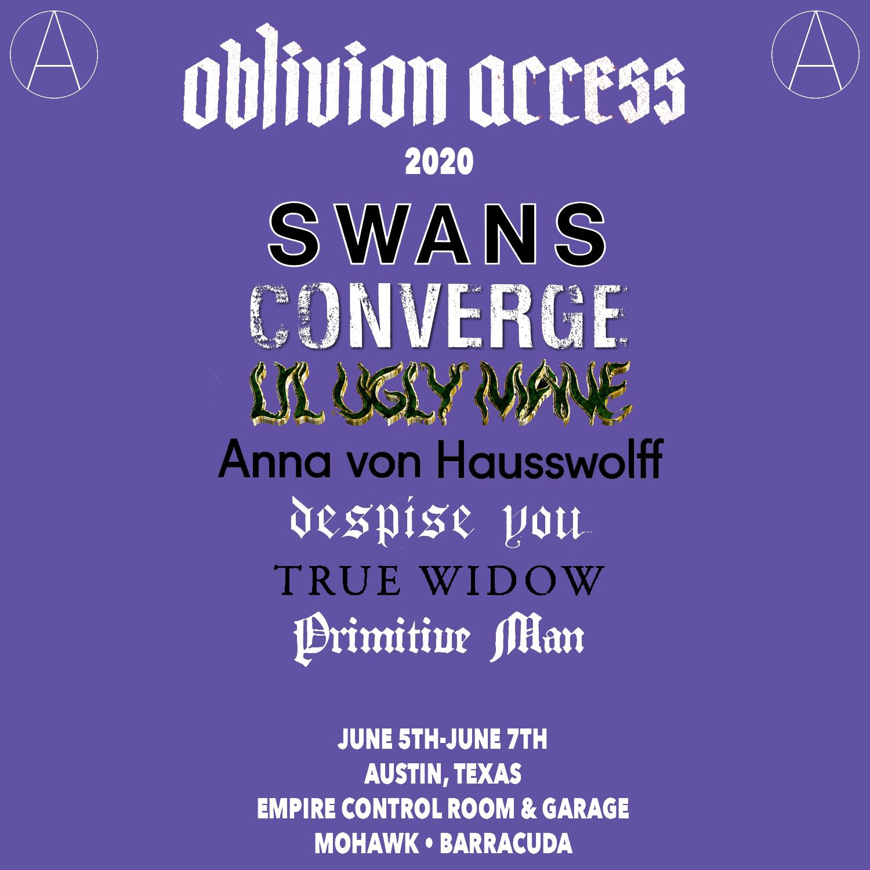 oblivion access 2020 lineup