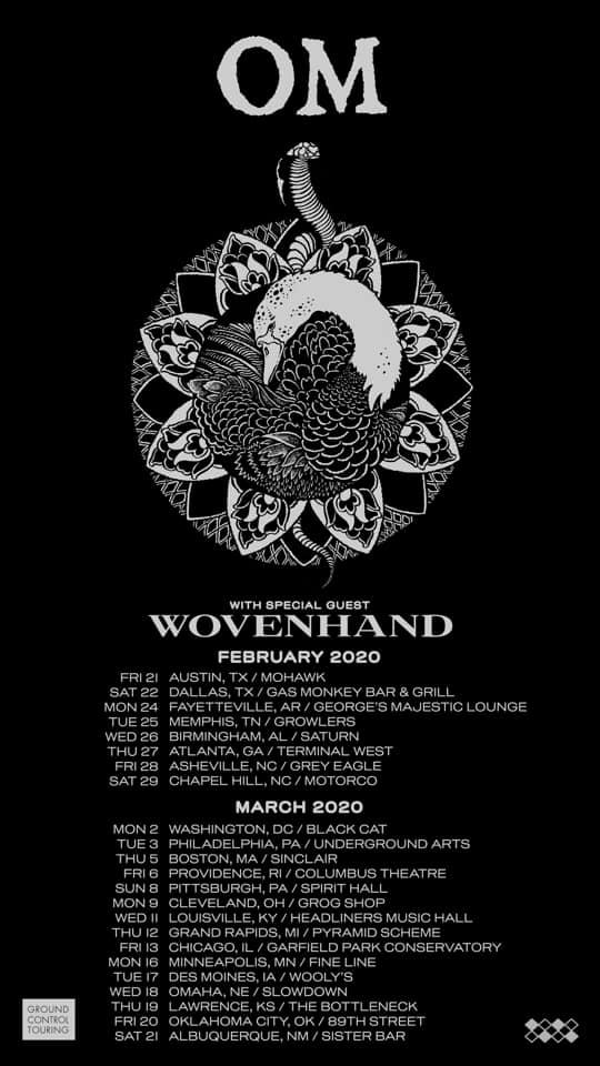 om tour poster