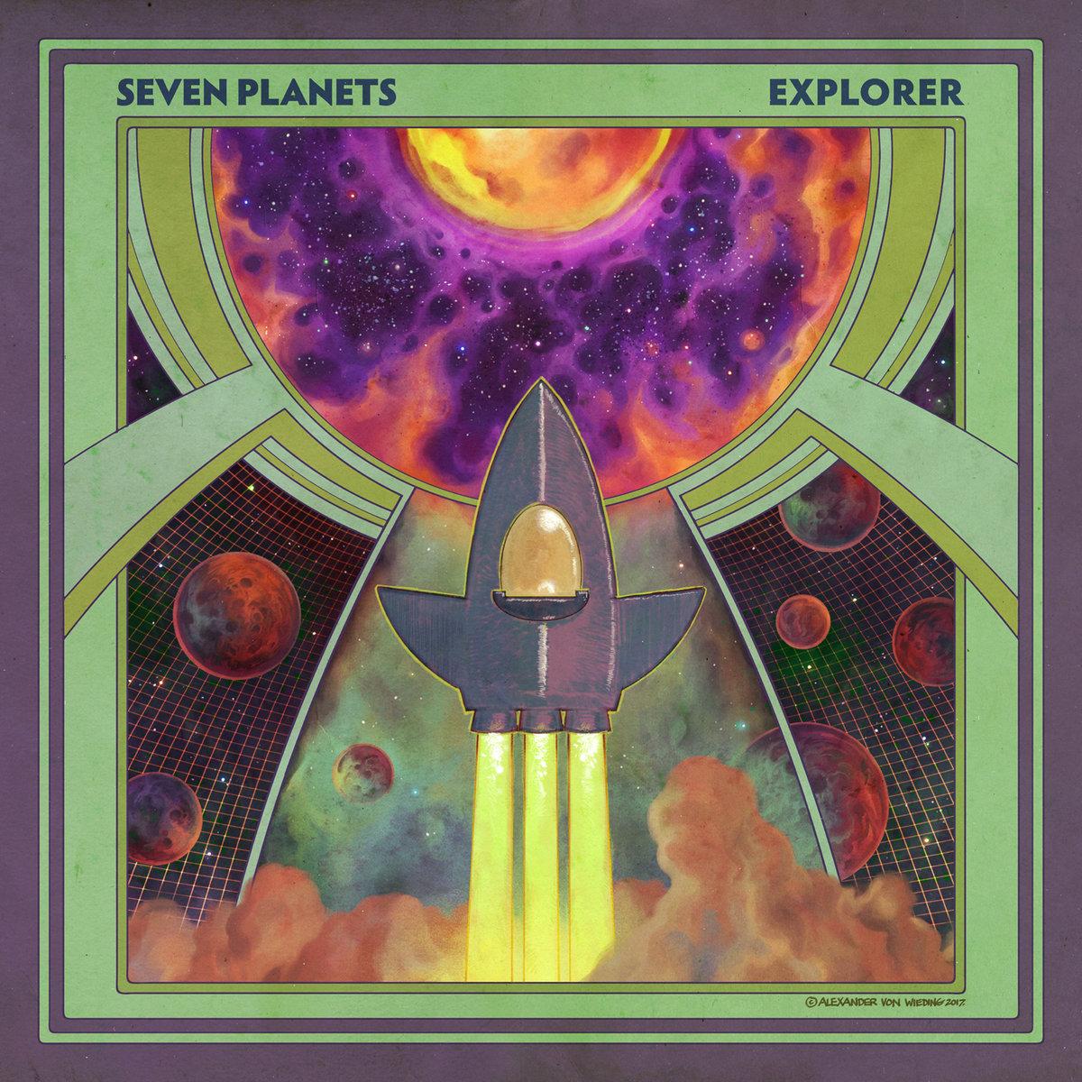seven planets explorer