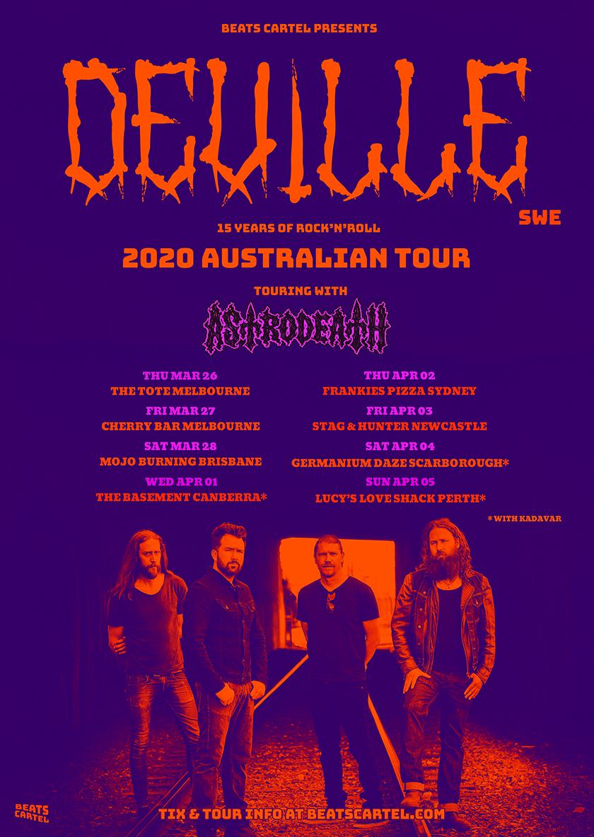 deville australian tour