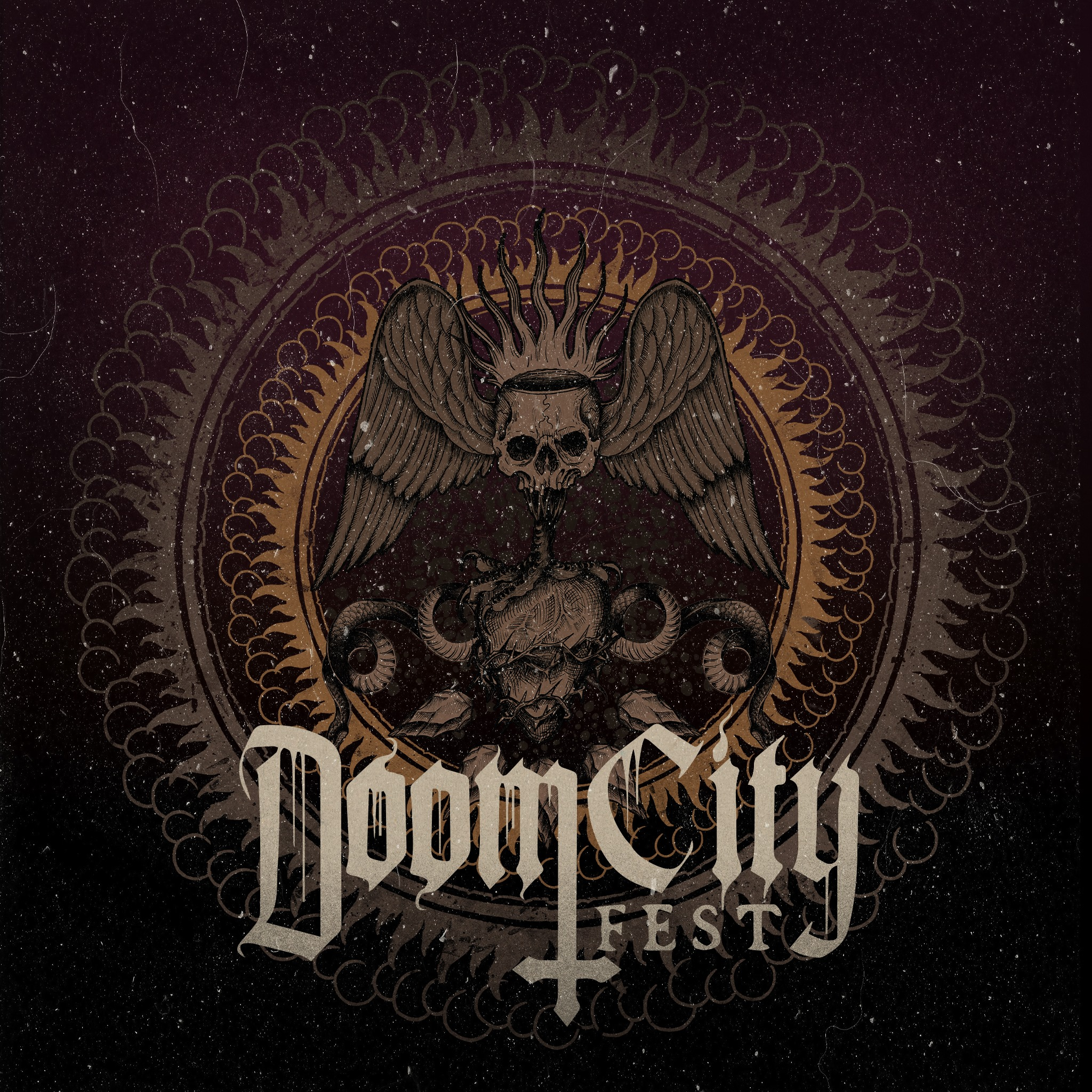 doom city fest 2020 logo
