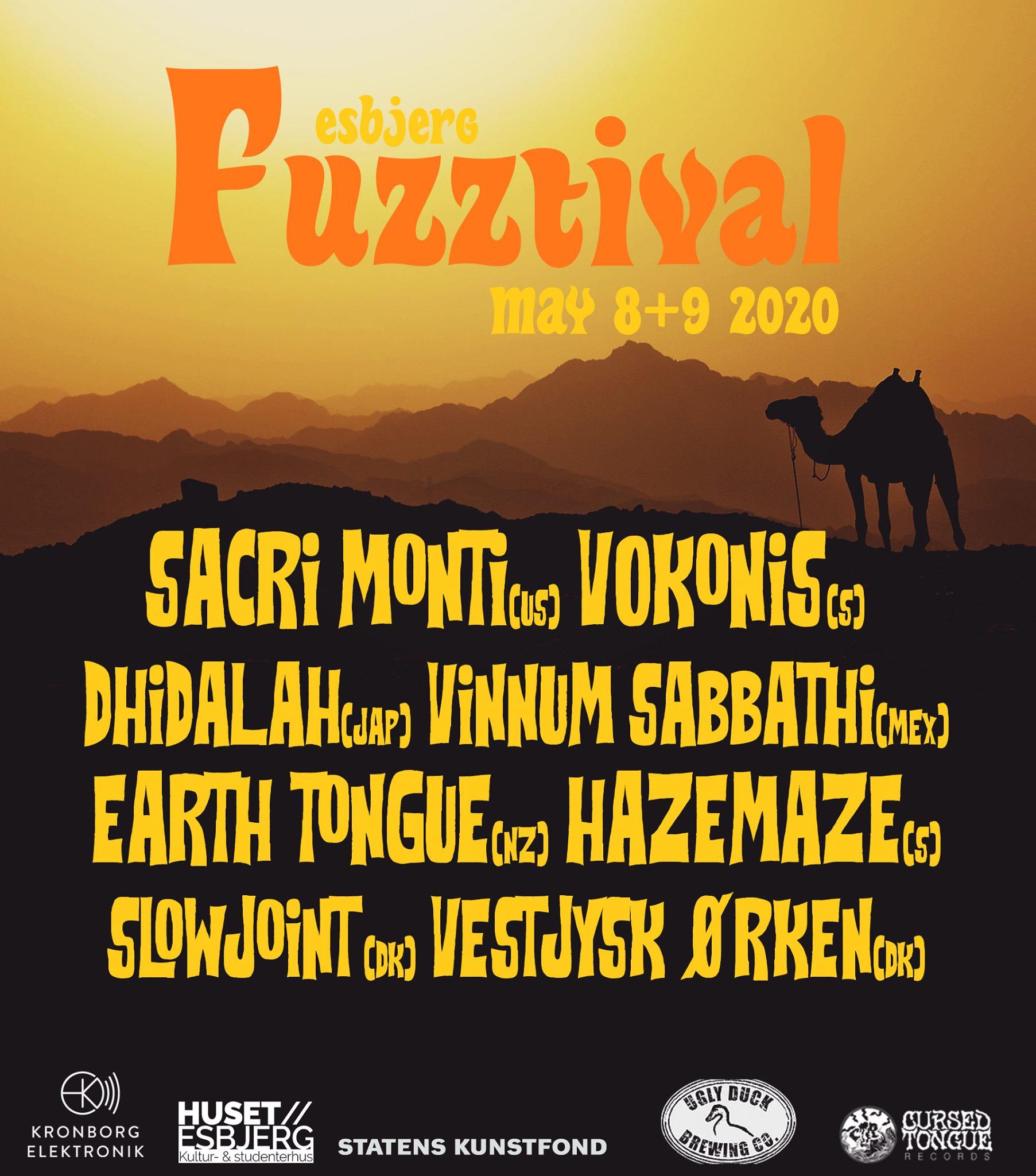esbjerg fuzztival 2020 second announcement