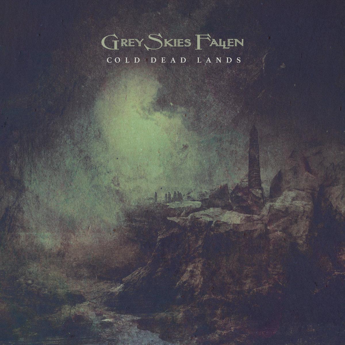grey skies fallen cold dead lands