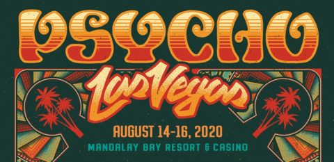 Psycho Las Vegas 2020 banner style