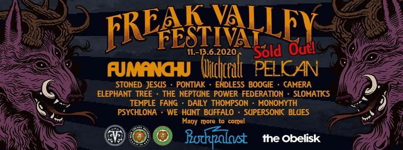 freak valley 2020 third announcement header