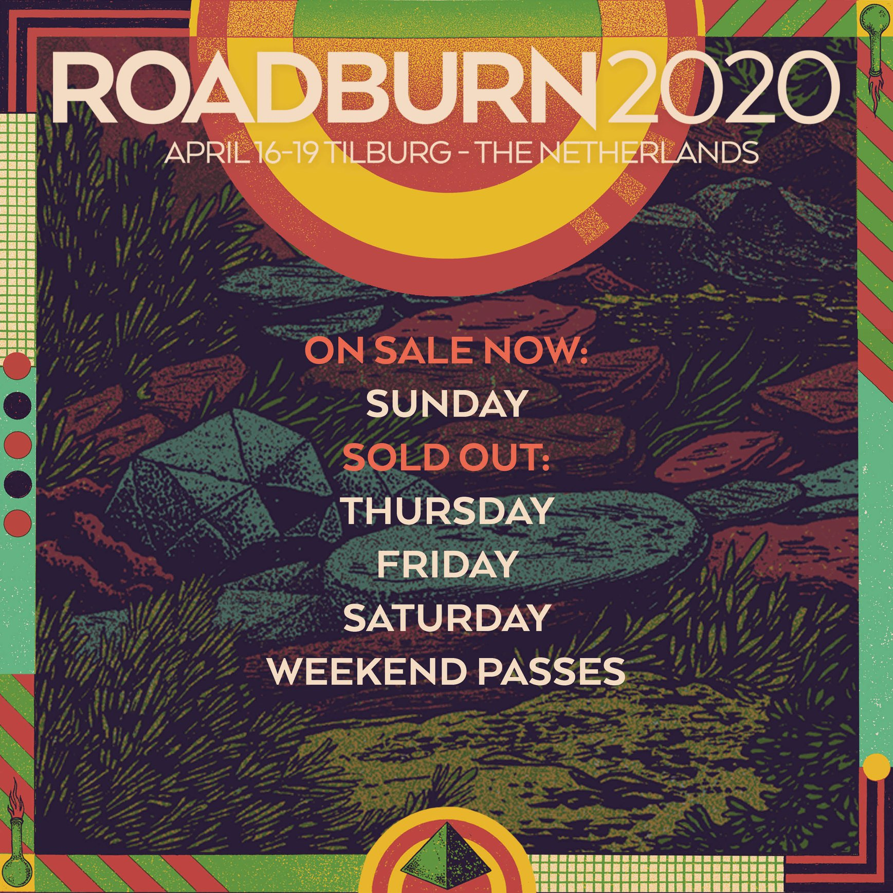 roadburn 2020 selling like hotcakes