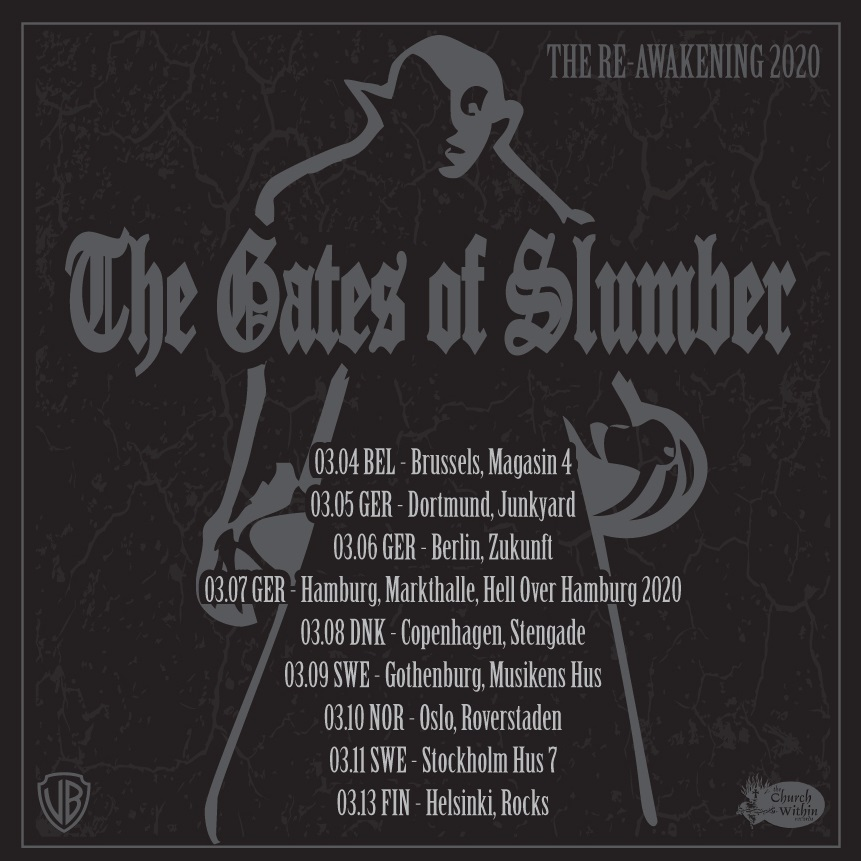 the gates of slumber eu tour 2020