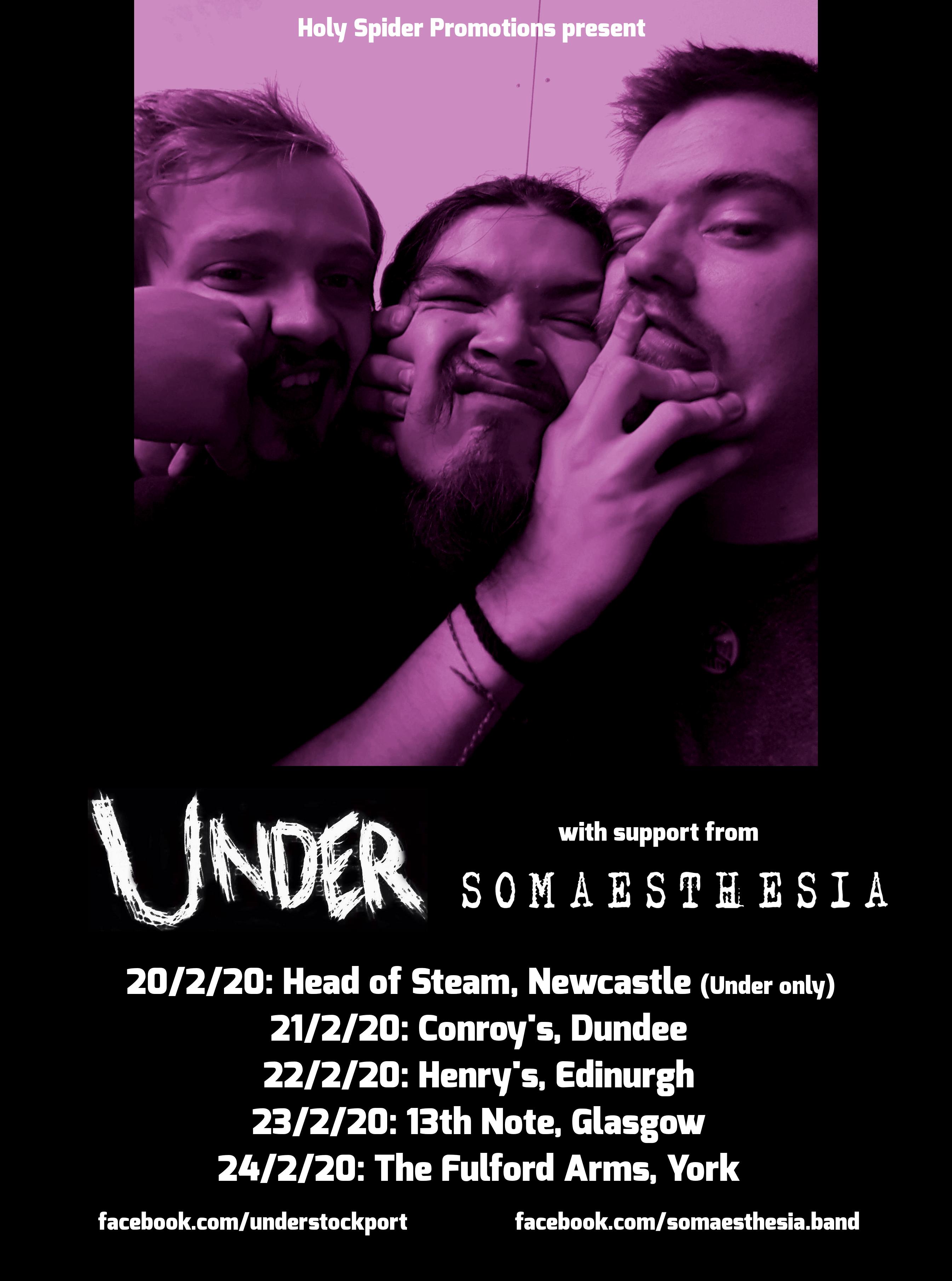 under uk tour