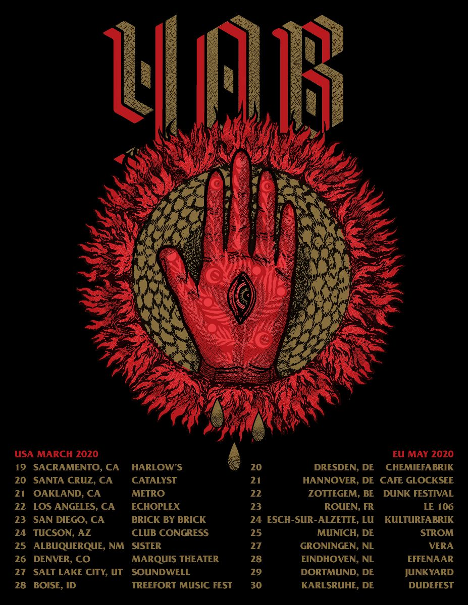 yob tour dates
